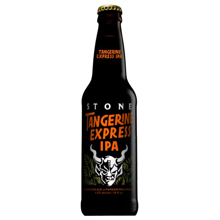 Stone Brewing Tangerine Express IPA Beer Stone Brewing Company