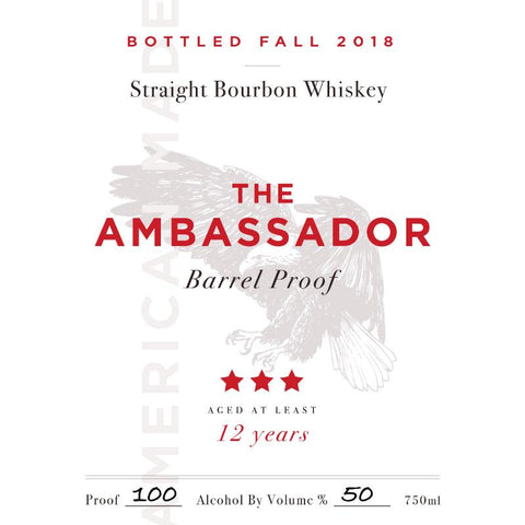 The Ambassador Barrel Proof 12 Year Old