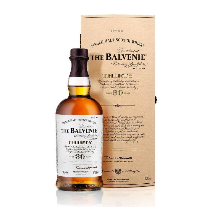 The Balvenie 30 Year Old Scotch The Balvenie