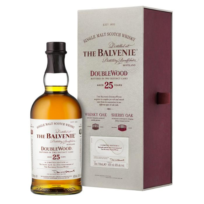 The Balvenie Doublewood 25 Year Old Scotch The Balvenie