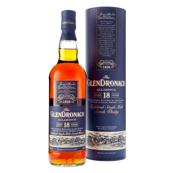 GlenDronach Allardice 18 Years Old Scotch Glendronach