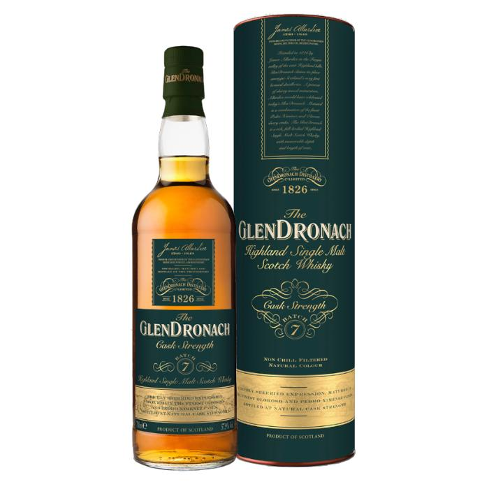 Glendronach Cask Strength Batch 7 Scotch Glendronach