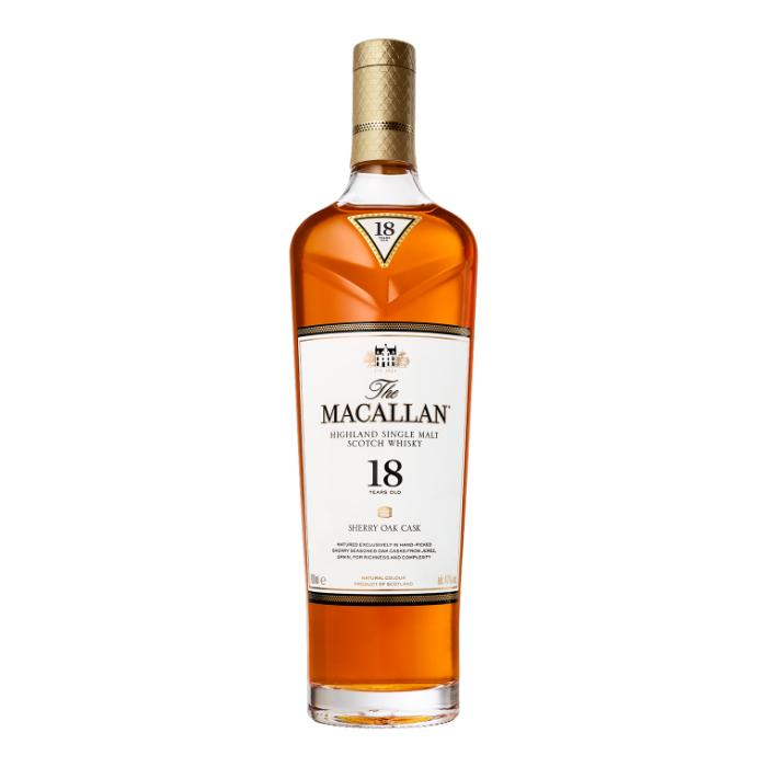 The Macallan 18 Year Old Sherry Oak 2019 Edition Scotch The Macallan