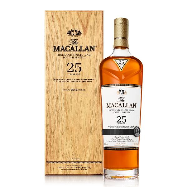 The Macallan 25 Year Old Sherry Oak Scotch The Macallan