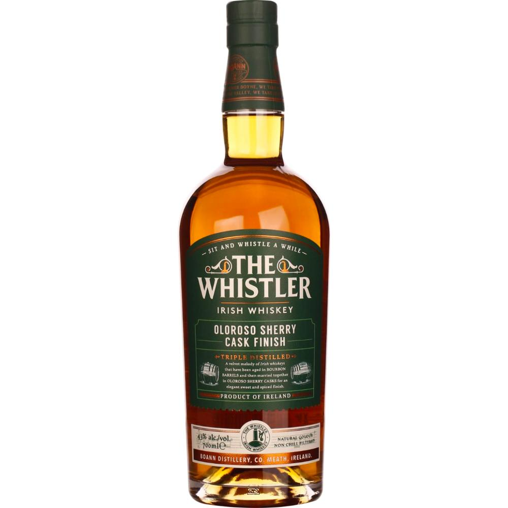 The Whistler Oloroso Sherry Cask Finish Irish whiskey The Whistler Irish Whiskey