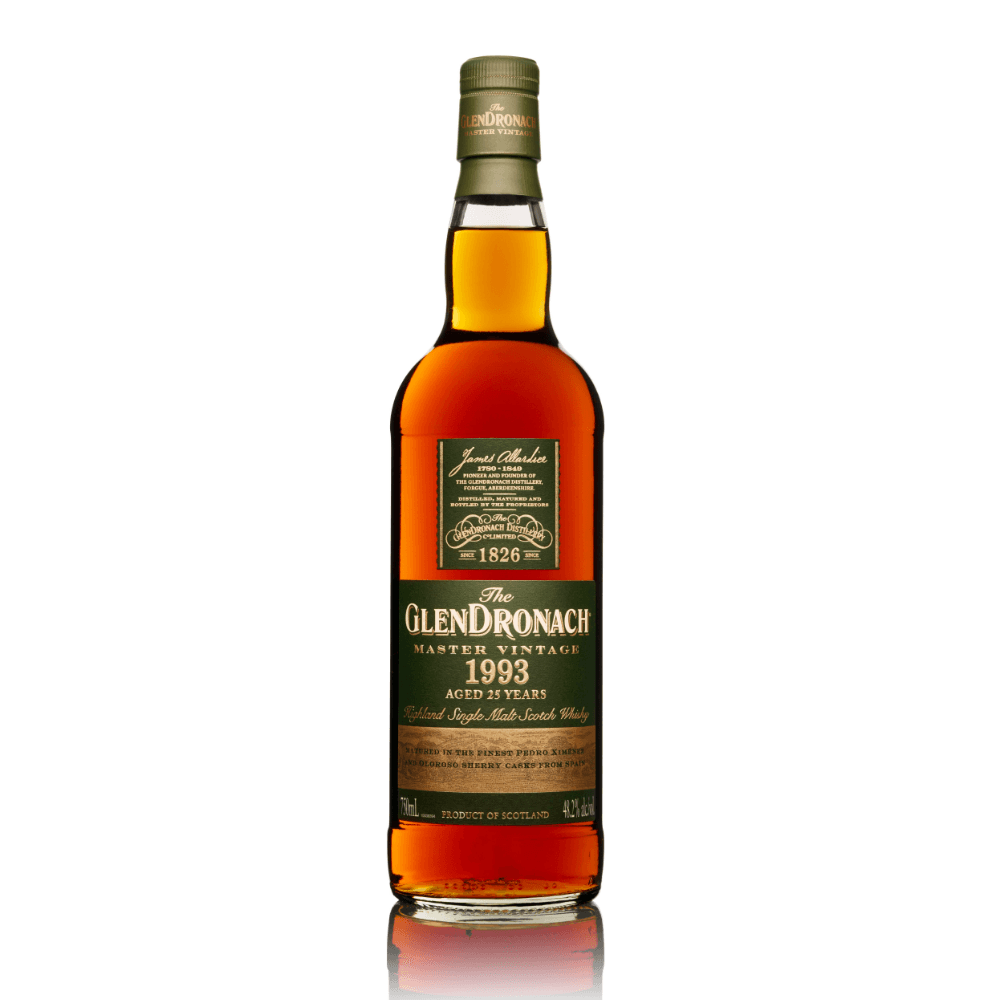 The GlenDronach Master Vintage 1993 Scotch Glendronach