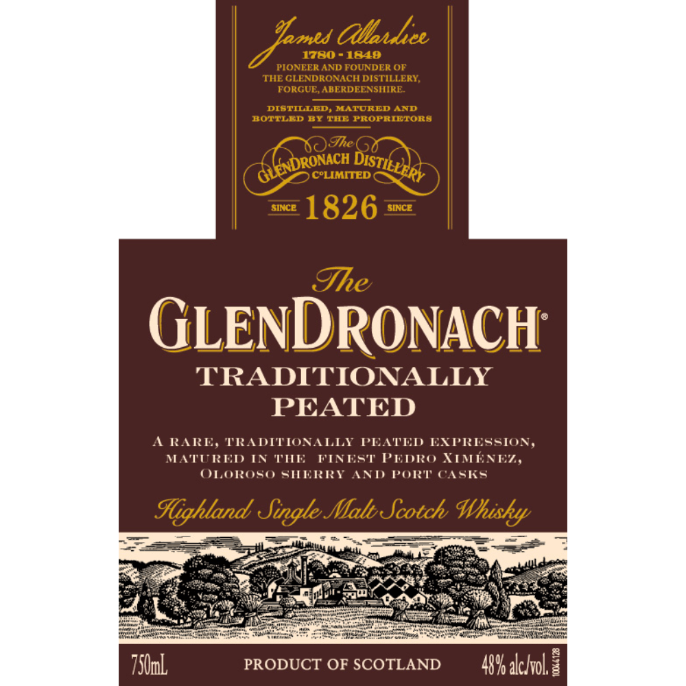The Glendronach Traditionally Peated Scotch Glendronach