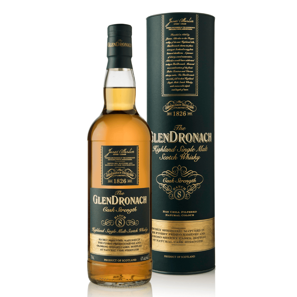 Glendronach Cask Strength Batch 8 Scotch Glendronach