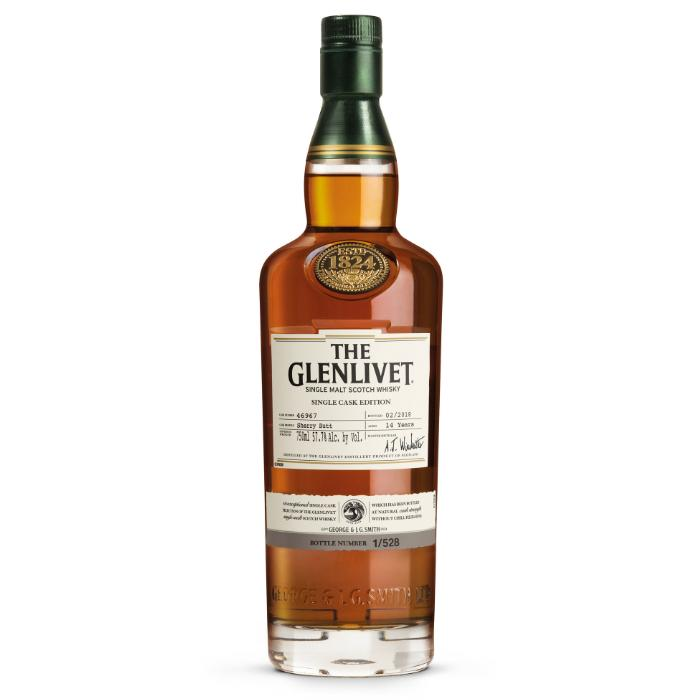 The Glenlivet Single Cask Edition California Sherry 14 Year Scotch The Glenlivet