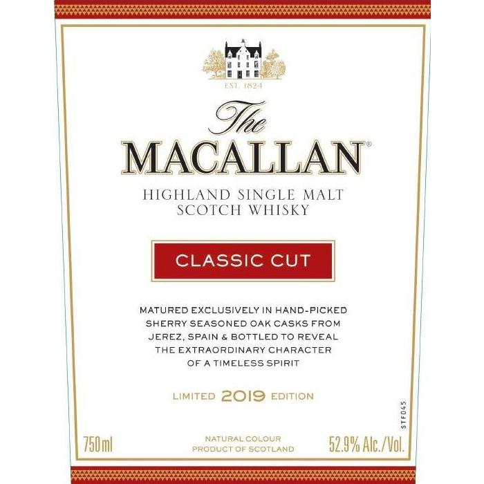 The Macallan Classic Cut 2019 Edition Scotch The Macallan