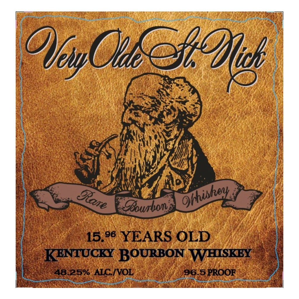Very Olde St. Nick 15.96 Years Old Ancient Estate Bourbon Kentucky Bourbon Whiskey Very Olde St. Nick