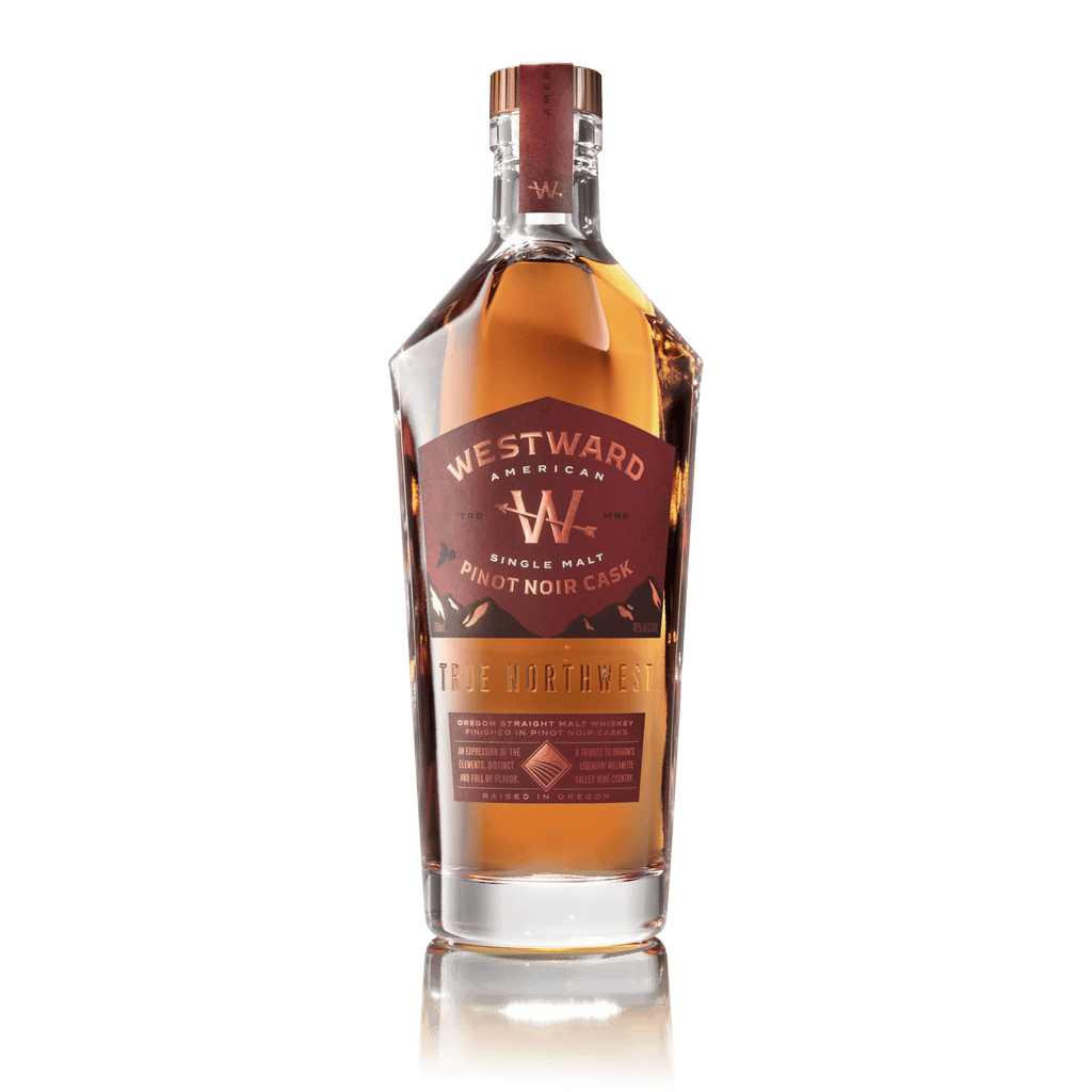 Westward Single Malt Pinot Noir Cask American Whiskey Westward Whiskey