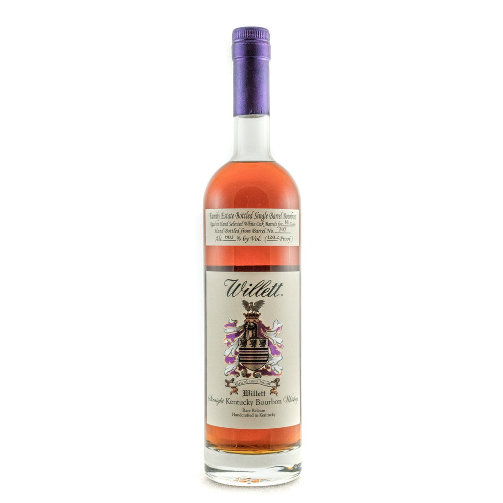 Willett Family Estate Bottled Bourbon 14 Years Old Barrel No. 707 Bourbon Willett Distillery