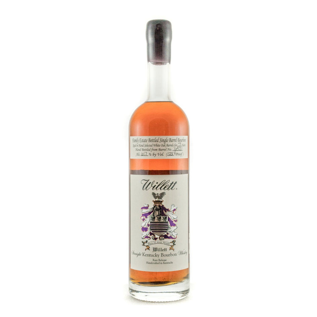 Willett Family Estate Bottled Bourbon 7 Years Old Barrel No. 6521 (Wax Top) Bourbon Willett Distillery