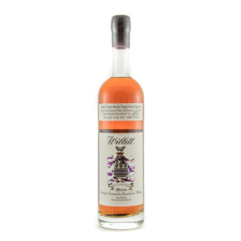 Willett Family Estate Bottled Bourbon 7 Years Old Barrel No. 6521 (Wax Top)