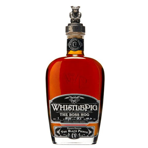 WhistlePig The Boss Hog The Black Prince