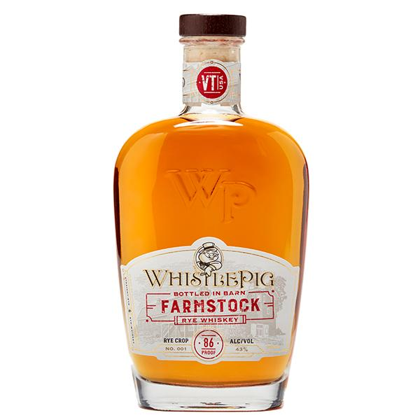 WhistlePig Farmstock Rye Crop 001 Rye Whiskey WhistlePig