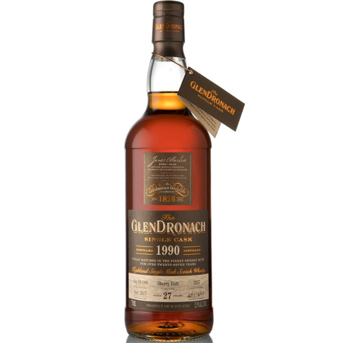 Glendronach 27 Year Old 1990 Single Cask #2257 Scotch Glendronach