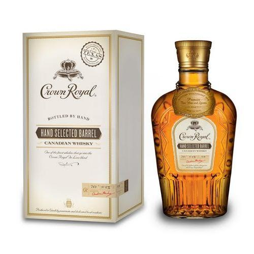 Crown Royal Hand Selected Barrel Canadian Whisky Crown Royal