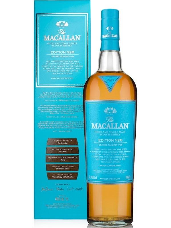 The Macallan Edition No. 6 Scotch The Macallan