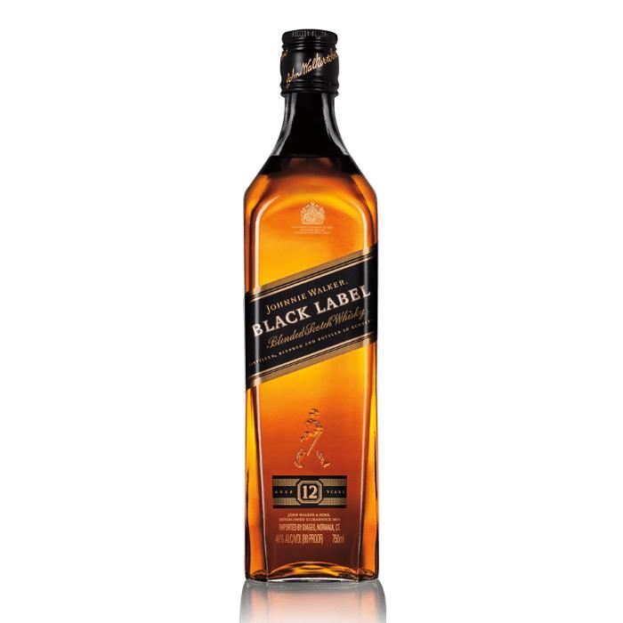 Johnnie Walker Black Label 1.75L Scotch Johnnie Walker