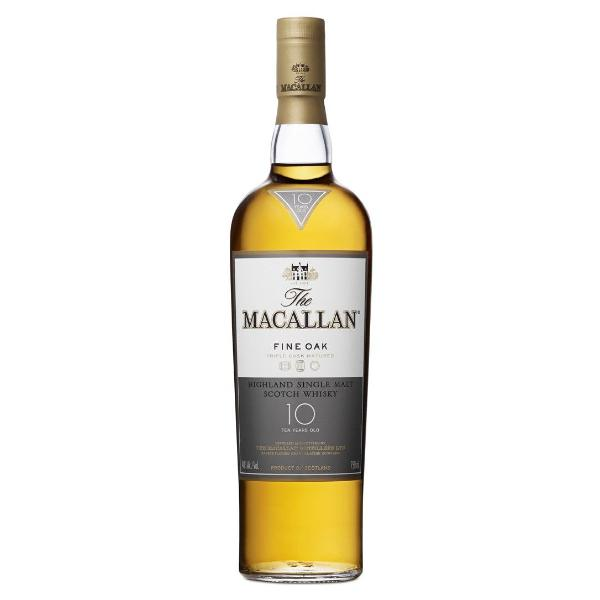 The Macallan 10 Year Old Fine Oak Scotch The Macallan