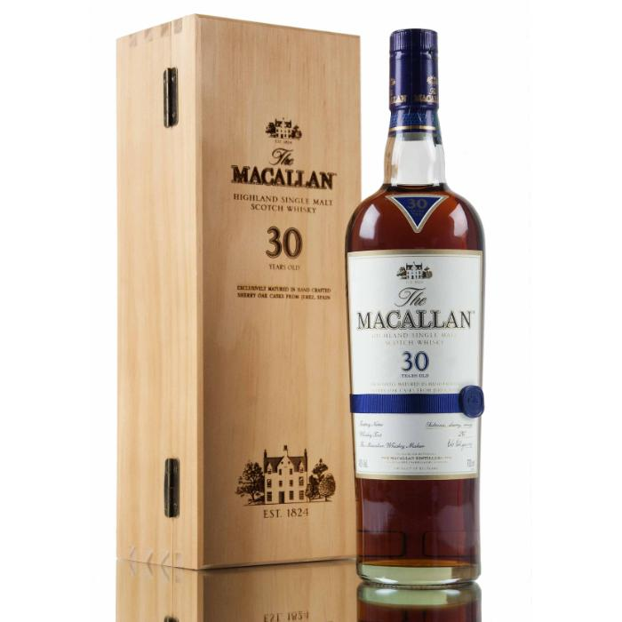The Macallan 30 Year Old Sherry Oak Scotch The Macallan