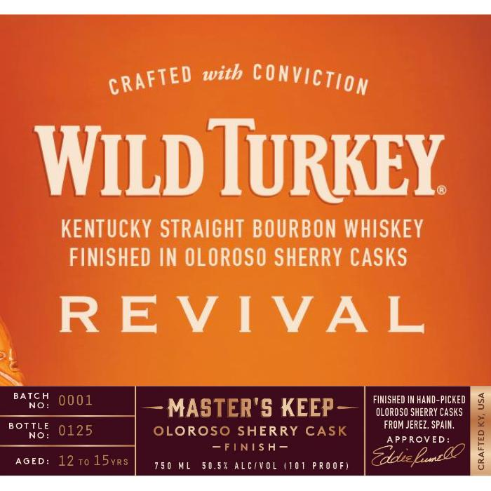 Wild Turkey Master's Keep Revival Bourbon Wild Turkey