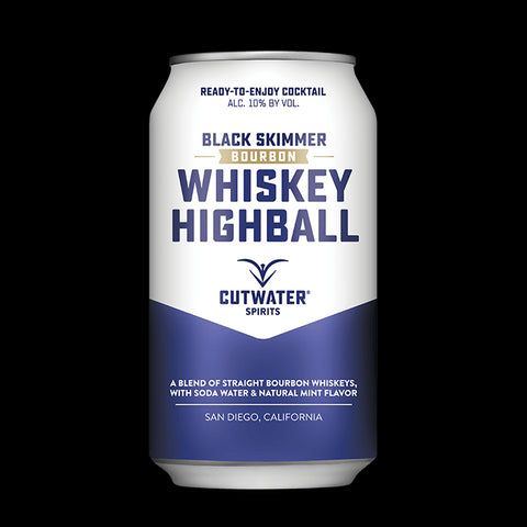 Black Skimmer Whiskey Highball (4 Pack - 12 Ounce Cans)