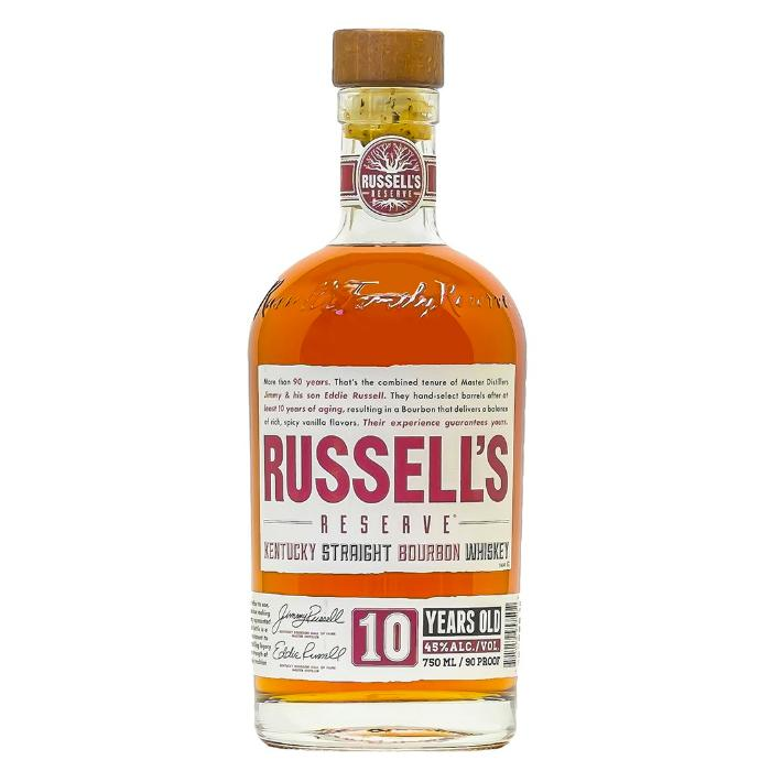 Russell's Reserve 10 Year Old Bourbon Bourbon Russell's Reserve