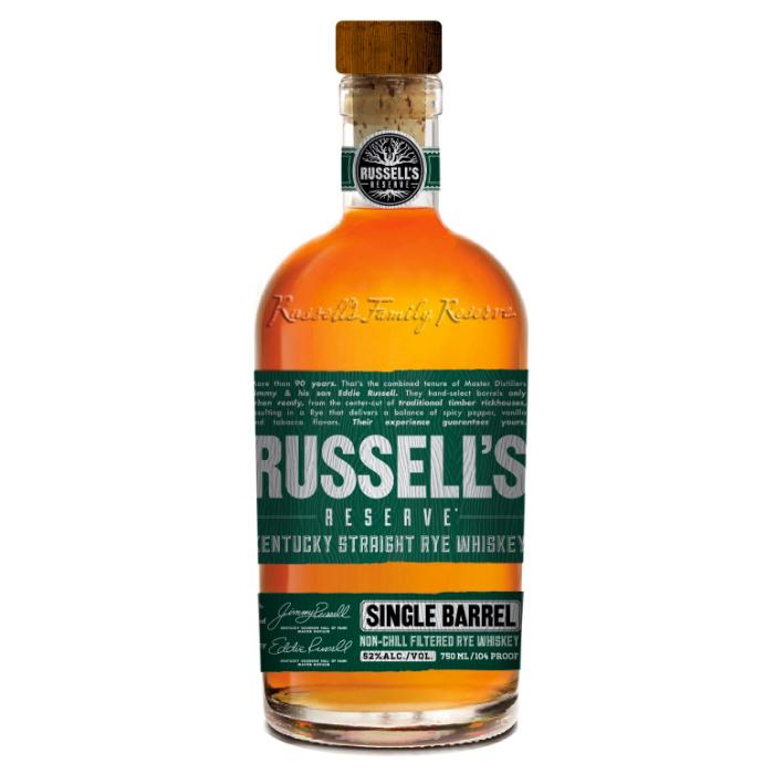 Russell's Reserve Single Barrel Rye Rye Whiskey Russell's Reserve
