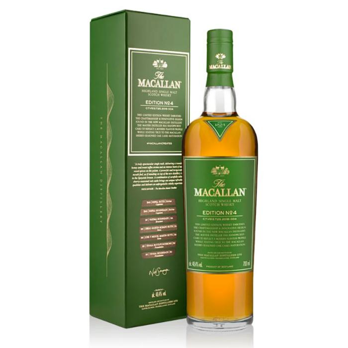 The Macallan Edition No. 4 Scotch The Macallan