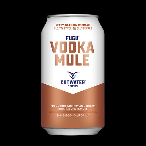 Fugu Vodka Mule (4 Pack - 12 Ounce Cans)