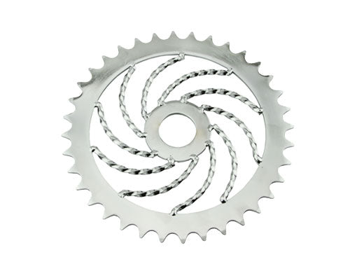36t Lowrider Twisted Steel Sprocket