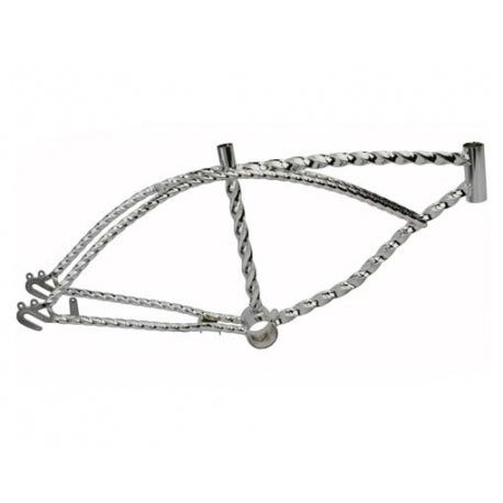 "20"" Bicycle Twisted Lowrider Frame"