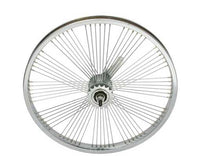 "20"" x 1.75"" Fan Steel Coaster Wheel 72 Spoke"