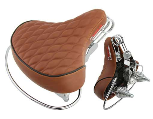 Beach Cruisers Saddle Diamond Web Spring