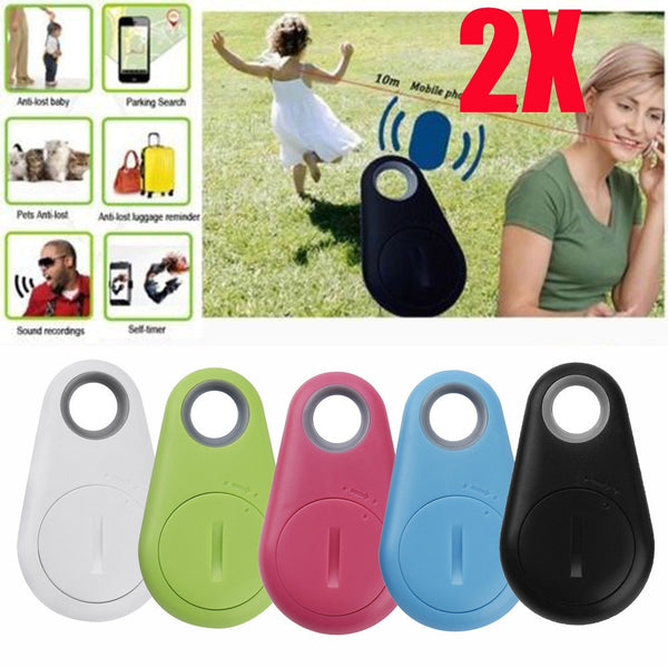 1 or 2 Pcs Bluetooth Tracker Locator Anti-Lost Theft Device Alarm Remote GPS Tracker Child Pet Bag Wallet Key Finder Phone Box #20