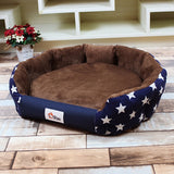 WHISM Stylish 3 Sizes Warm Dog Bed Soft Waterproof Mats for Small Medium Dog Autumn Winter Pet Beds Dog House Cat Bed Cama Perro