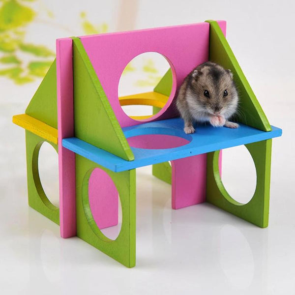 Hamster Wooden Exercise House