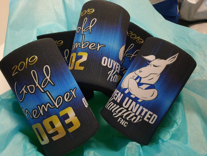 Gold Member Stubby Holders