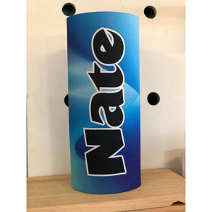 Blue Wave Waterbottle Cover (Suits 750ml) - Carlie Rees Custom Designs