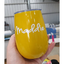 Load image into Gallery viewer, Cordia Vacuum Cup 300ml Custom Printed - FREE SHIPPING - Carlie Rees Custom Designs