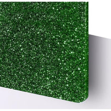 Load image into Gallery viewer, Green Glitter Christmas Ornament - Carlie Rees Custom Designs