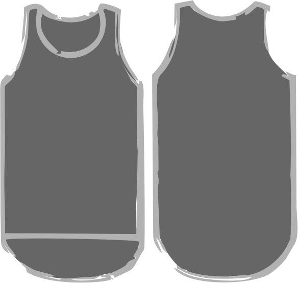 Smoke Grey Shearing Singlet - Just Shear