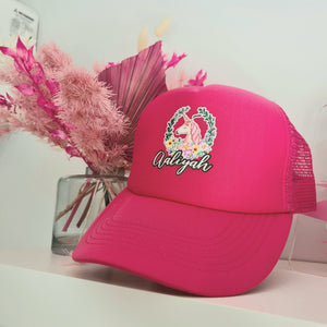 Hot Pink Unicorn Cap
