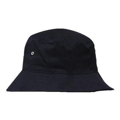 Navy Custom Printed Bucket Hat - Carlie Rees Custom Designs