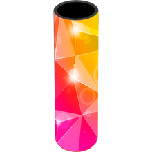 Load image into Gallery viewer, Pink Yellow Bursts Icy Pole Holder - Carlie Rees Custom Designs