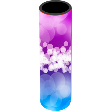 Purple Blue Bubbles Icy Pole Holder - Carlie Rees Custom Designs