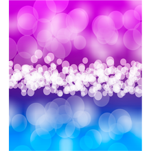 Load image into Gallery viewer, Purple Blue Bubbles Icy Pole Holder - Carlie Rees Custom Designs